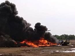 印尼直升机坠毁
