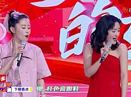 谢娜模仿刘敏涛表情神同步