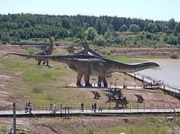 世界上最大的恐龙 胃口能装下一头大象