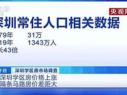 深圳学区房隔一条街单价差8万 隔条马路房价差距大