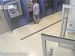 男子深夜持锤狂砸ATM机 嫌疑人称不是冲钱去的