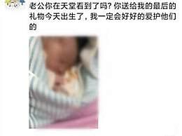 李文亮妻子今日生下男婴 深情发文老公你在天堂看到了吗
