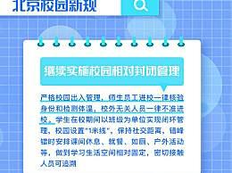 北京校园7条新规