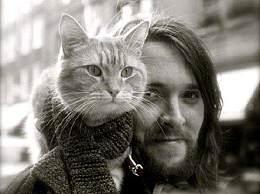 流浪猫鲍勃去世