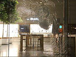 苹果零售店被砸