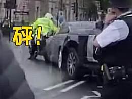 英首相车队遭袭击