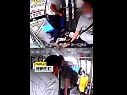 公交司机昏迷前一秒将车停好