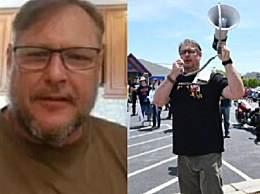 美国一居家令抗议者感染新冠