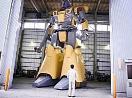 世界上最大的人形车 堪比现实版变形金刚