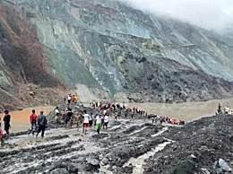 缅甸一矿区塌方已致113人死