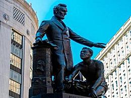 波士顿林肯解放黑奴雕像将被移除