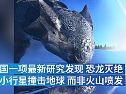小行星撞击地球是恐龙灭绝主因