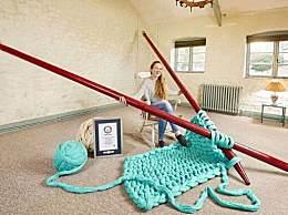 世界上最大的针 用它织毛衣?