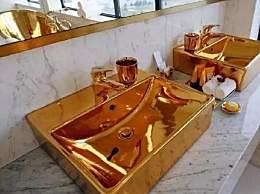 闪瞎!越南24K纯金酒店开业 纯黄金打造太亮眼
