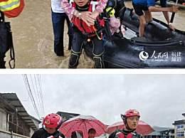 福建武夷山遭遇暴雨