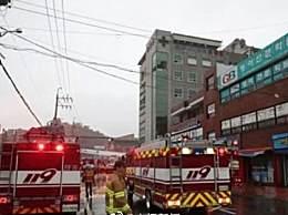 韩国一家医院大火致2死56伤