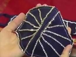 印度现钻石镶边口罩