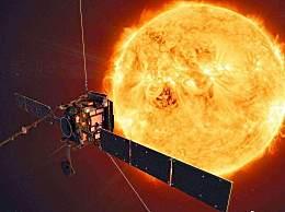 人类史上最近距离拍摄的太阳 金光闪闪让人眼花缭乱