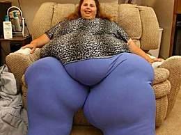 世界上最胖的女人 因为肥胖而死
