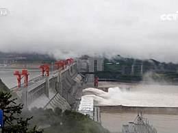 长江3号洪水形成 三峡水库入库流量快速上涨