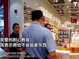 7岁女童商场偷拿玩具亲妈报警