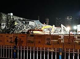 哈尔滨仓库坍塌无人幸存