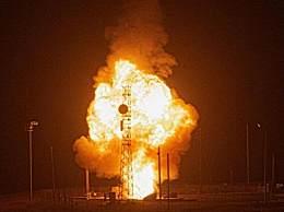 美军发射一枚民兵3洲际导弹
