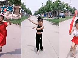 7岁女孩左脚变形坚持跳舞