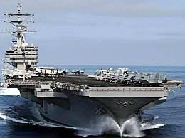 """美""""里根""""号航母重返南海"""