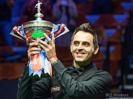 奥沙利文第六次获得世锦赛冠军