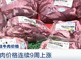 牛肉价格连续9周上涨 肉牛产能仍处于振荡恢复期产量增长缓慢