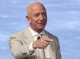 世界首富贝索斯身价近2000亿美元