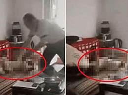男子摔打2岁幼儿被刑拘
