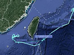 美军侦察机在台海南部侦察