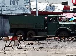 菲律宾发生两起连环爆 炸 至少造成10死40伤