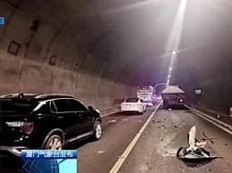 厦门高速车祸2女子身亡