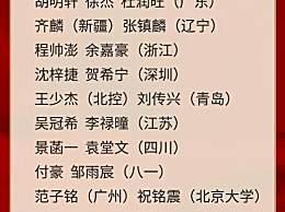 李楠儿子入选国家队 中国男篮公布集训名单一览
