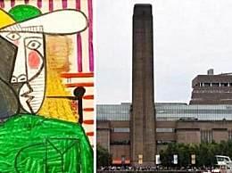 男子撕毕加索名画被判18个月