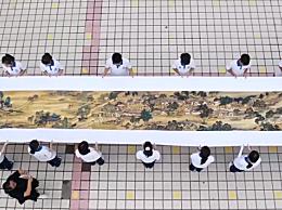 女子10年绣完36米长清明上河图