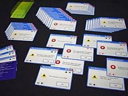 日本推出微软错误弹窗扑克