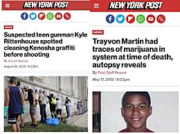 美国黑人揭西方媒体双标