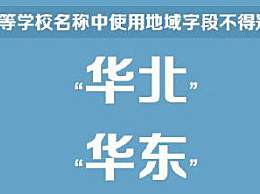 教育部印发高等学校命名暂行办法 不得代表中国及世界字样