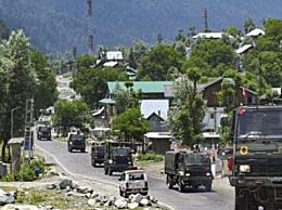 印度军官在中印边境被撞死
