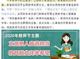 2020教师节是几月几号
