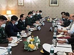 中印国防部长在莫斯科会晤