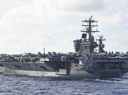 美国尼米兹号航母一名水兵失踪
