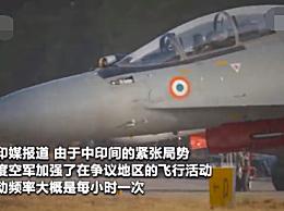印度空军在边境疯狂活动