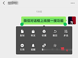 微信对话框上线搜一搜功能