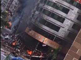 珠海一酒店附近发生爆 炸