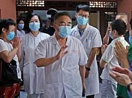 张伯礼获奖后第一天 患者自发列队迎接